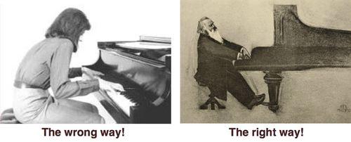 Piano posture