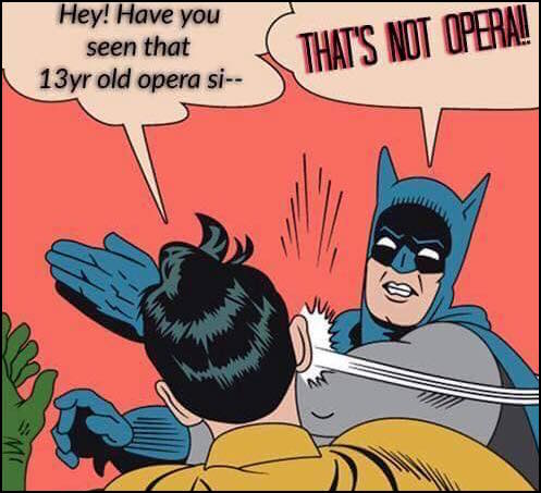 Thats Not Opera Its An Opportunity The Liberated Voice