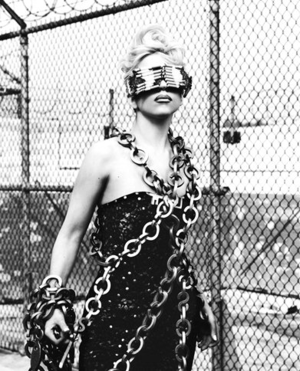 Gaga in chains